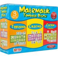Diytoy Matematik Tombala Oyunu