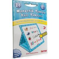 Diytoy Manyetik Tablet Yazı Tahtası Mavi