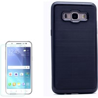 Gpack Samsung Galaxy On7 Kılıf İnfinitiy Motomo Sert Arka Kapak + Kırılmaz Cam
