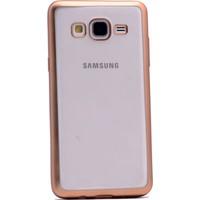 Gpack Samsung Galaxy On5 Kılıf Arka Kapak Şık Lazer Silikon