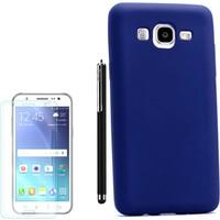 Gpack Samsung Galaxy On5 Kılıf Premier Silikon Yumuşak Arka Kapak +Kalem+Kırılmaz Cam