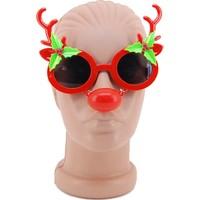 KullanAtMarket Geyik Burunlu Yılbaşı Gözlük