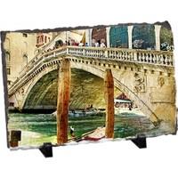 Fotografyabaski Venedik' İn Renkleri Dikdörtgen Taş Baskı 15X20 Cm