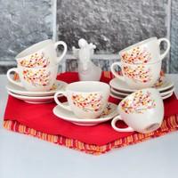 Sonbahar Tomurcuk 12 Parça Çay Takımı