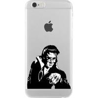 Remeto Elvis Presley Apple iPhone 7 Kılıf Transparan Silikon Resimli Kılıf