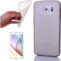 Gpack Samsung Galaxy J7 Prime Kılıf 0.2MM İnce Silikon Antrasit + Cam