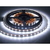 Şerit LED 18 Watt /530 Lümen (1 Çip 60 Led) -12 Volt -Beyaz Işık - 5 Mt - İç Mekan