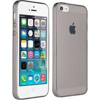 CaseUp Apple iPhone Se Kılıf CaseUp İnce Şeffaf Silikon + Kırılmaz Cam