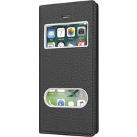 CaseUp Apple iPhone Se Kılıf CaseUp Kapaklı Çift Pencereli + Kırılmaz Cam