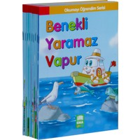Okumayı Öğrendim Serisi 1 Ve 2 Sınıflar İçin Eğik Yazılı (10 Kitap Takım - Küçük Boy)