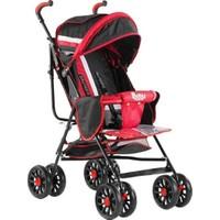 Babyhope Sa7 Baston Bebek Arabası Kırmızı