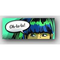 ArtRedGallery (Panorama) Pop Art Tablo