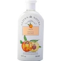 Cliven Natura Peach Softening Body Milk Vücut Sütü 300 ml
