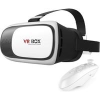 Vr Box 3.2 3D Sanal Gerçeklik Gözlüğü Ve Bluetooth Kumanda