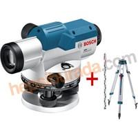 Bosch GOL 32 D + BT 160 Tripod + GR 500 Mira Optik Hizalama/Optik Nivo (Ölçüm Birimi : Derece)