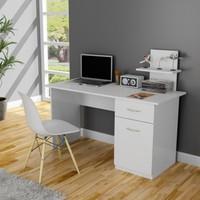 Tdesigno Lavanta Çalışma Masası - Beyaz