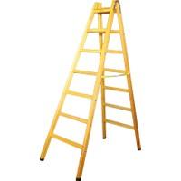 Despa 220cm 7 Basamaklı Üst Tablalı Ahşap Merdiven