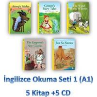 İngilizce Okuma Seti 1 (A1) 5 Kitap +5 Cd