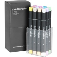Stylefile Marker 12Pcs Set Pastell