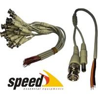 Speed Sp-Dc010 Bnc Ve Power Voltaj Jakı 10Lu 30Cm