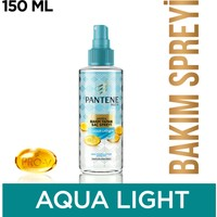 Pantene Saç Spreyi Aqualight Anında Bakım Yapan 150 ml