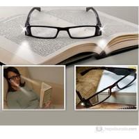 Cix Led Işıklı Kitap Okuma Gözlüğü - Numarasız