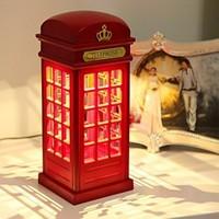 Cix Telefon Kulübesi Londra Dokunmatik Gece Lambası