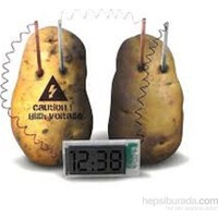 Cix Elektriğini Patatesten Üreten Dijital Saat