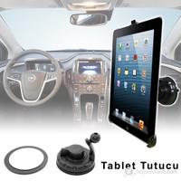 Cix Araç İçi Vantuzlu Tablet Tutucu iPad-Galaxy Tab-PDA Uyumlu