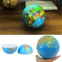 Cix 360 Derece Dönen Işıklı Dünya Küresi