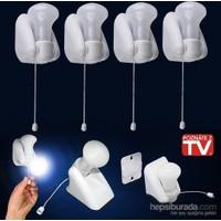 Cix Handy Bulb Duvara Monte Edilebilir Led Ampul (4 Adet)