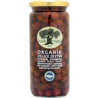 Asın Farm Organik Siyah Delice Zeytin 480 Gr