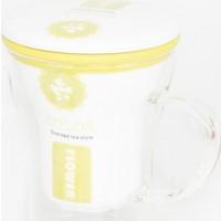 Yedifil Sarı Büyük Bitki Çayı Kupası