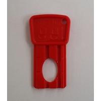 Pilsan Kartlı Kontak Anahtarı Kırmızı
