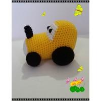 Damla Oyuncak Sarı Traktör