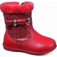 Sanbe 112 I 202 Suni Deri Bot Ayakkabı Kırmızı