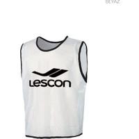 Lescon 14T-4038 Beyaz Erkek Antrenman Yelegı