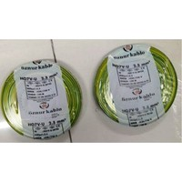 Öznur 2,5 Mm Nya Kablo Tek Damar Sarıyeşil 20 Metre