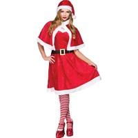 KullanAtMarket Noel Baba Lüks Kadın Kostüm