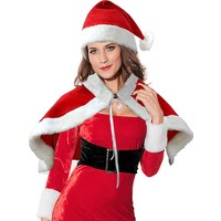 KullanAtMarket Noel Anne Pelerin ve Şapka Poler Set