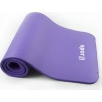 Spor724 Köpük Pilates Matı-Minderi 15Mm. Mor PM15-20