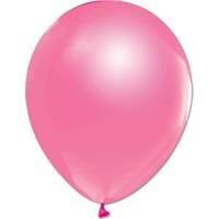 Bebekparti Metalik Pembe Balon 10 Adet