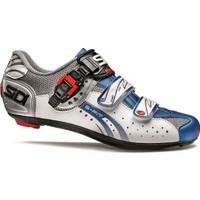 Sidi Genius 5 Fit Yol Ayakkabısı Beyaz-Mavi
