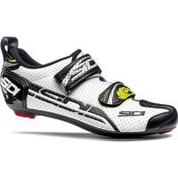Sidi T4 Air Triatlon Ayakkabısı Siyah-Beyaz 46