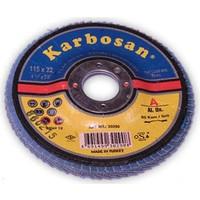 Karbosan Zımpara Flap Disk X P 5'Li Paket