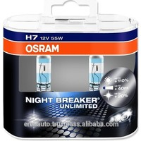 Osram Set Ampul H7 12V 55W %110 Daha Fazla Işık 64210 Nbu Night Breaker Unlimited