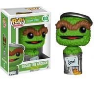 Pop Funko Sesame Street - Oscar The Grouch