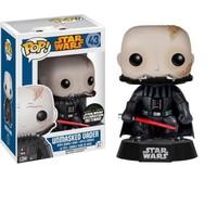 Pop Funko Star Wars Unmasked Darth Vader