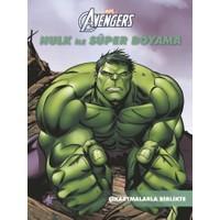 Marvel Hulk İle Süper Boyama