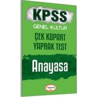 Yediiklim Yayınları Kpss 2017 Anayasa Çek Kopart Yaprak Test